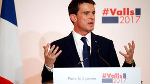 Manuel Valls explains his proposals on 3 January