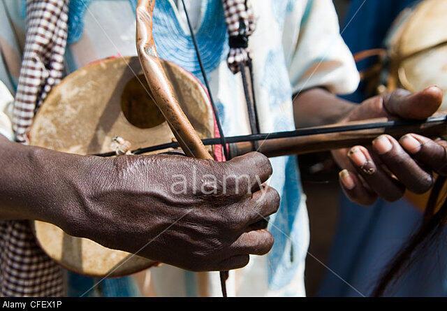 African Instrument Goge