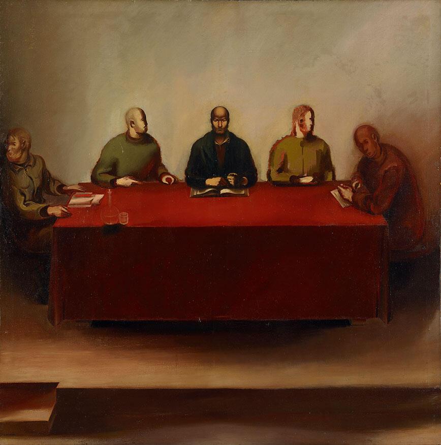 Соломон Никритин, «Суд народа». 1934 г.