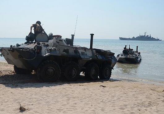 Chiến dịch tập trận quân sự Sea Breeze 2013.