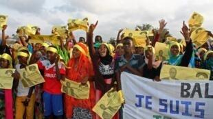 Des sympathisants de l'USN lors de la campagne électorale de 2016 à Djibouti (image d'illustration)