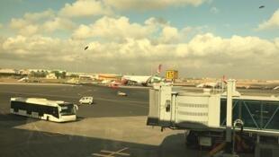 Terminal 1A de l'aéroport international Jomo Kenyatta à Nairobi (2017)