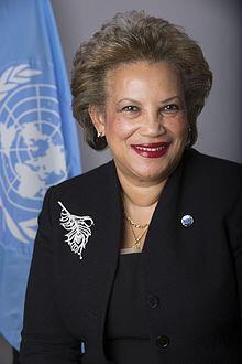 Catherine Pollard est Secrétaire générale adjointe des Nations unies et coordinatrice du multilinguisme.