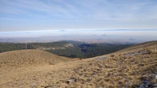 Le parc naturel Nevado de Toluca où ont été enlevés les deux hommes dimanche.