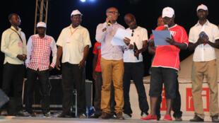 Les 20 ans des Clubs RFI, à Lomé (Togo).