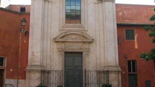 L'église Sant'Egidio qui a donné son nom à la communauté.