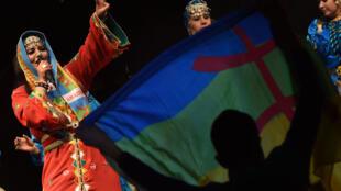 Célébrations du «Yennayer», le Nouvel An berbère le 12 janvier 2015 à Tiznit au Maroc.
