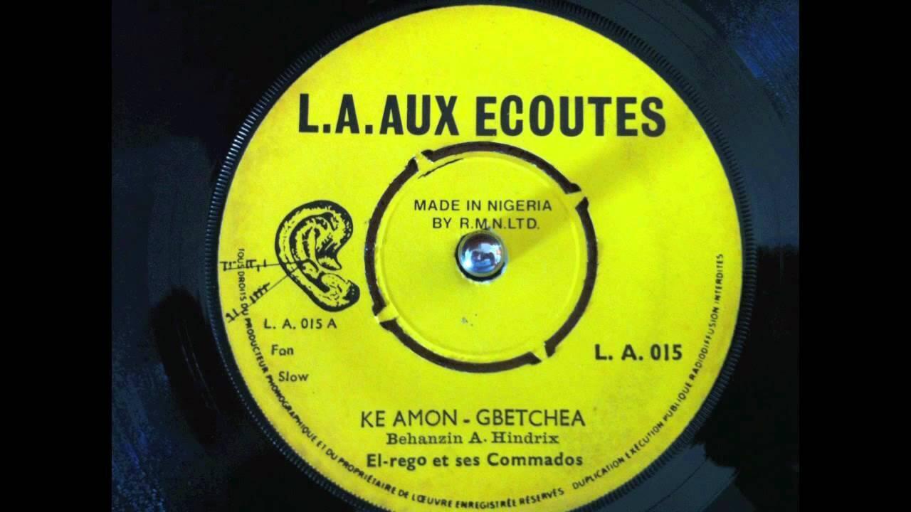 Un titre de El Rego réédité en 2009 sur le label Aux écoutes.