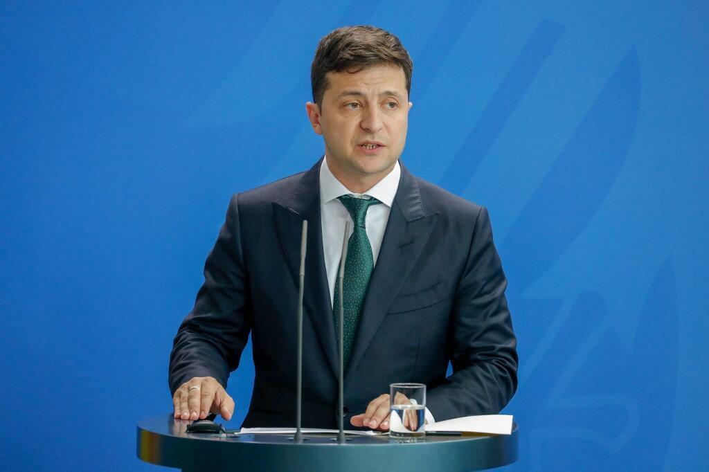 Partido Servidor do Povo, do Presidente Volodymyr Zelensky,ganha legislativas na Ucrânia