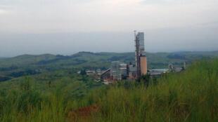 La cimenterie Diamond Cement, à Mindouli, dans la région du Pool, région voisine de Brazzaville.