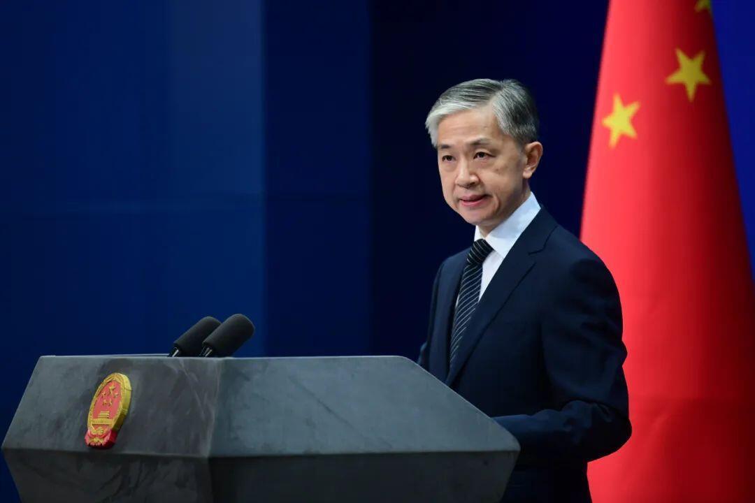 中国外交部发言人汪文斌资料图片