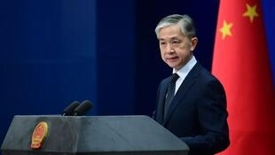 中國外交部發言人汪文斌資料圖片