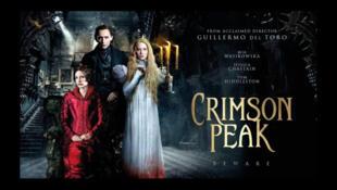 L'affiche du film «Crimson Peak», du réalisateur Guillermo del Toro.