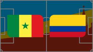 Coupe du monde 2018: Vivez Sénégal - Colombie en direct