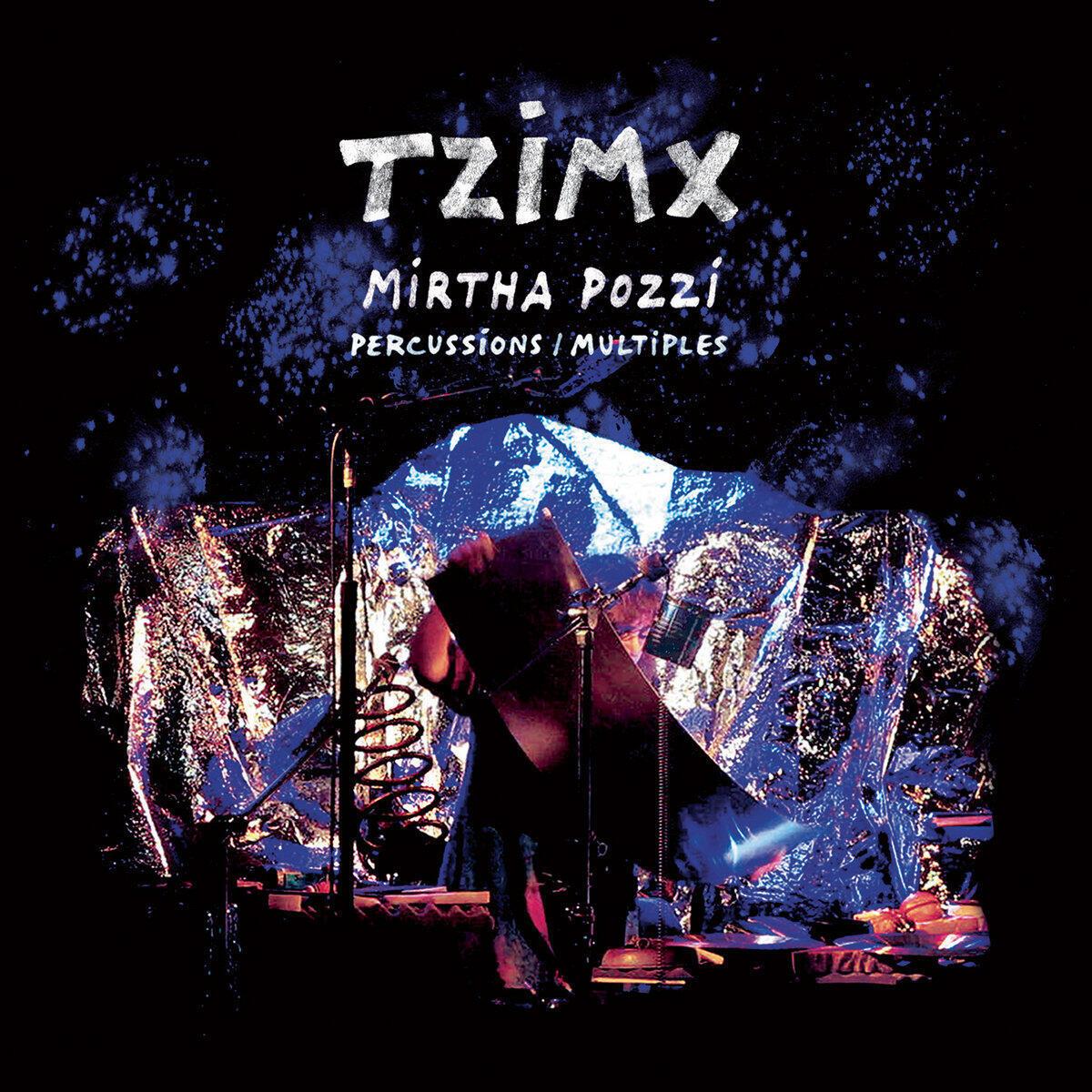 Portada del disco de Mrtha Pozzi TZIMX