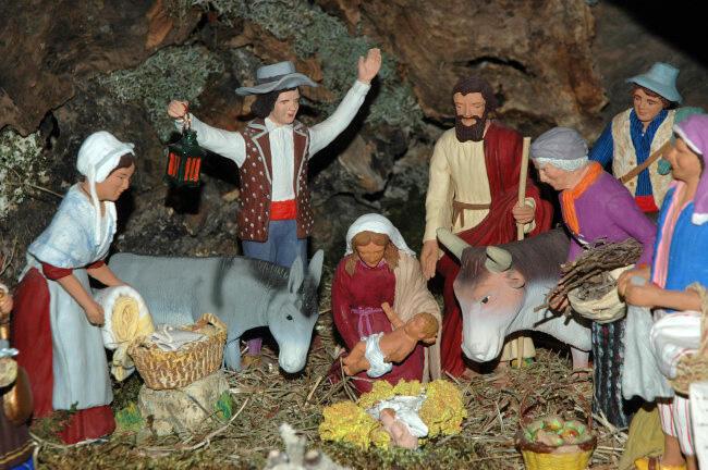 Os presépios da região de Provence, no sul da França, são uma das grandes tradições  do Natal do país.