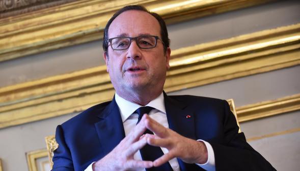فرانسوا هولاند، رییس جمهوری فرانسه