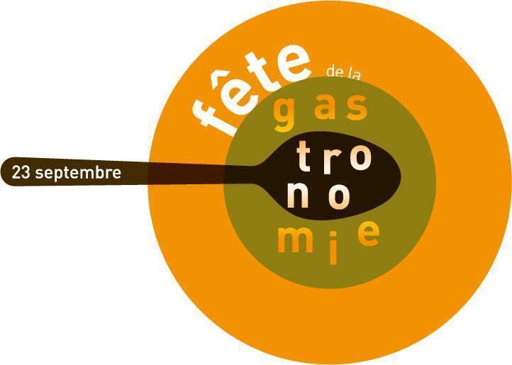 Logotipo oficial da Festa da Gastronomia.