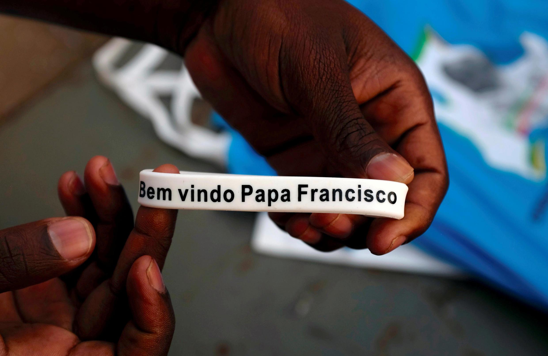Pulseira a assinalar a visita do Papa Francisco a Maputo entre 4 e 6 de Setembro 201919.