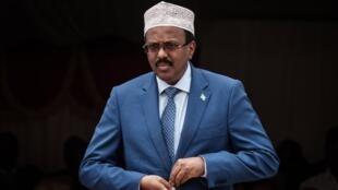 Le président somalien Mohamed Farmajo (illustration).