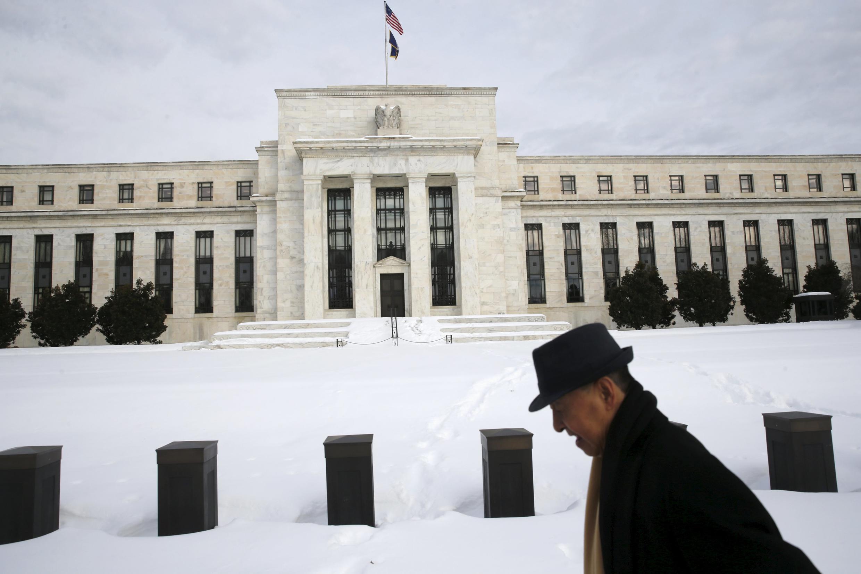 Sede de la Reserva Federal de Estados Unidos, Washington, 26 de enero de 2016.