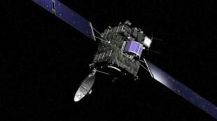 """Phi thuyền Rosetta vừa """"thức dậy"""" sau 10 năm để bắt đầu cuộc thăm dò nghiên cứu sao chổi."""