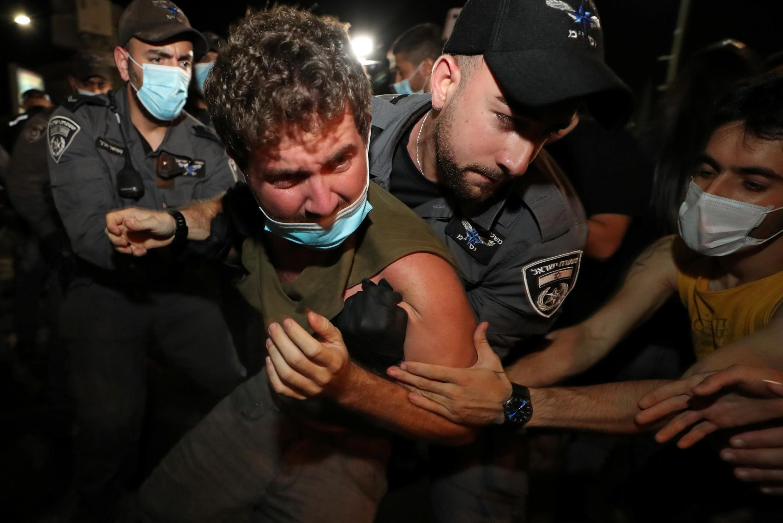 تظاهرات روز شنبه سوم اکتبر ۲۰۲۰ علیه نتانیاهو در اسرائیل