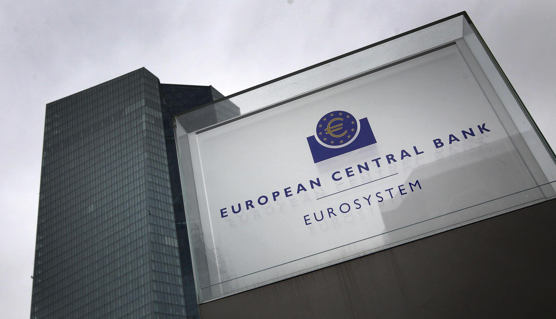 Sede del Banco Central Europeo (BCE) en Fráncfort, Alemania, el 12 de marzo de 2020