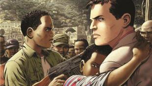 Couverture de la bande dessinée «Kivu» de Jean Van Hamme et de Christophe Simon.