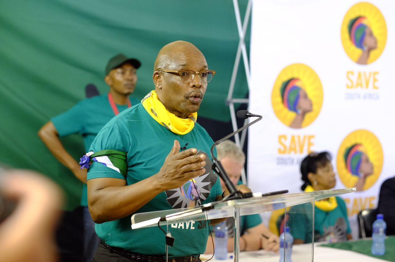 Sipho Pityana, convenor of Save South Africa
