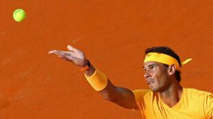 Rafael Nadal is seeking a ninth title at the Italian Open.