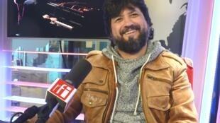 Juan Gómez 'Chicuelo' en los estudios de RFI