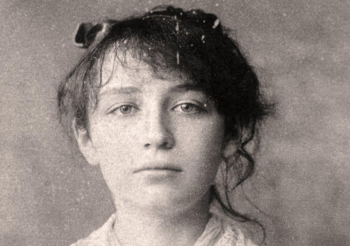 Retrato de Camille Claudel realizado pelo artista César, em 1884