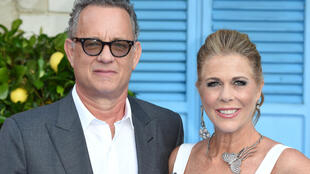 "Holed up in a Gold Coast hospital in Australia, Tom Hanks 63, said he and singer-songwriter partner Rita Wilson were taking the enforced isolation ""one-day-at-a-time"""
