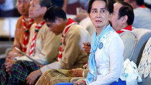 Aung San Suu Kyi has been charged with breaching an import and export law, according to her party