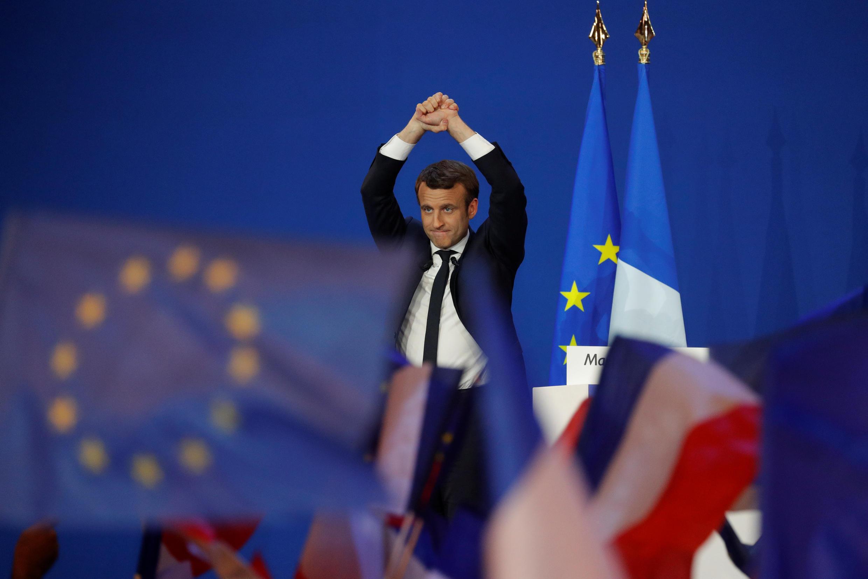 امانوئل ماکرون پیروز دور اول انتخابات ریاست جمهوری فرانسه