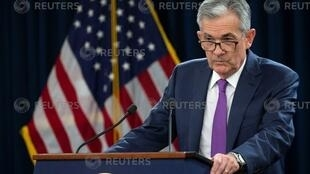 U.S. Federal Reserve Chairman Jerome Powell holds a news conference following a two-day Federal Open Market Committee (FOMC) policy meeting in Washington, U.S., September 26, 2018