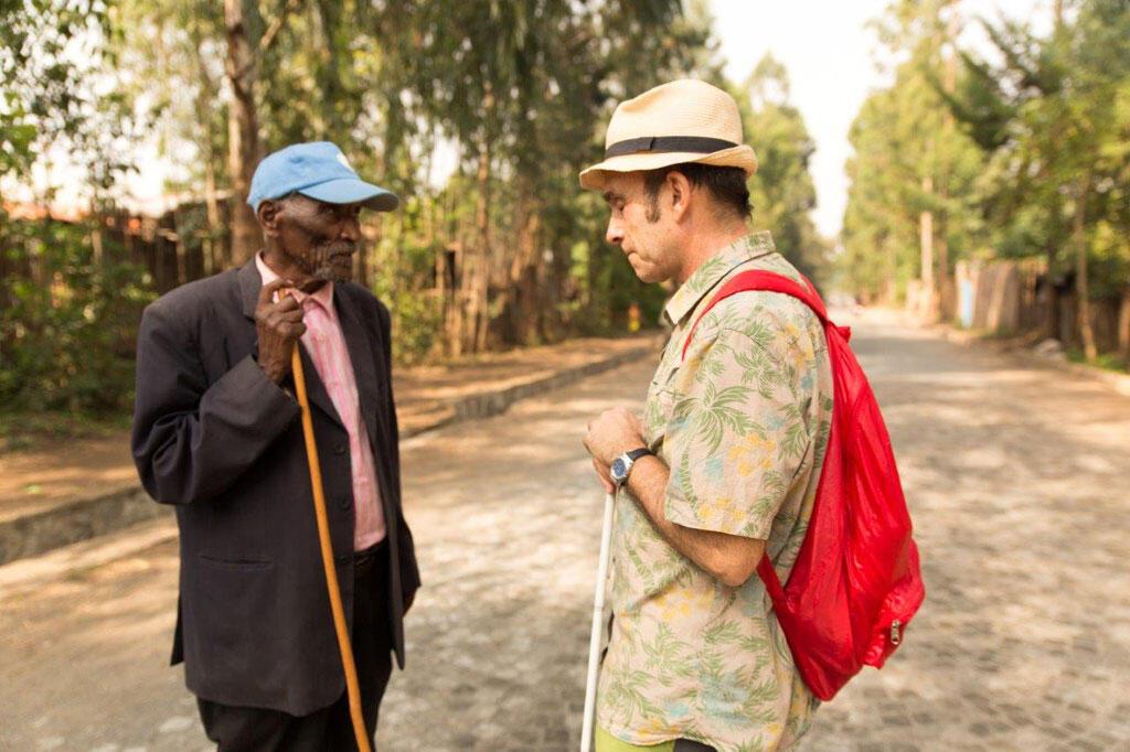 Jean-Pierre Brouillaud, lors de son dernier voyage en Ethiopie en 2016.