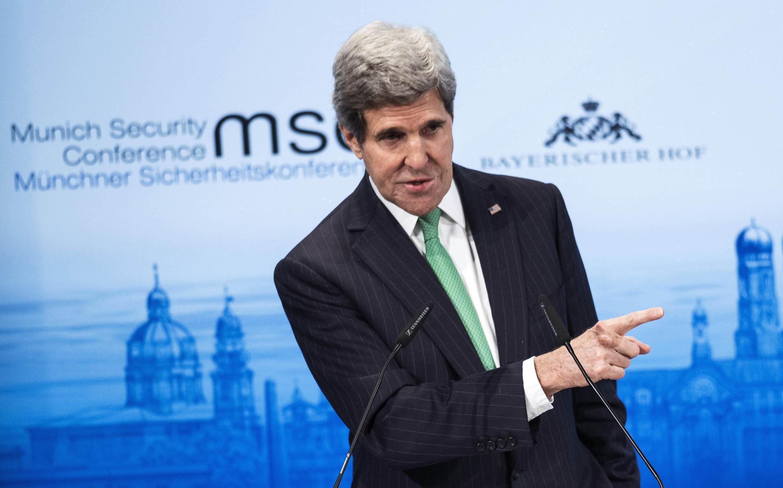 Госсекретарь США Джон Керри в Мюнхене 01/02/2014 (архив)