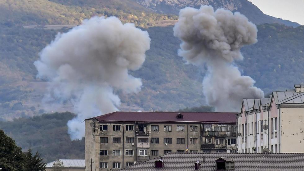 Обострение конфликта в Нагорном Карабахе продолжается две недели