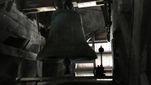 Les cloches de l'église Saint-Eustache à Paris.