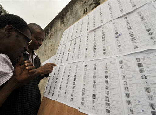 Listas eleitorais provisórias dos candidatos a eleição presidencial.