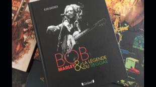 Musique - Bob Marley - Couverture du livre d'Alain Gardinier - Bob Marley - Epopée des musiques noires