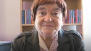 Hélène d'Almeida-Topor (Copie d'écran)