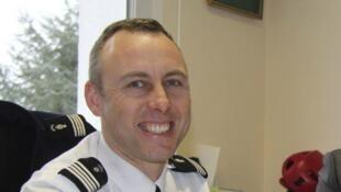 El teniente-coronel de gendarmería Arnaud Beltrame, 45 años