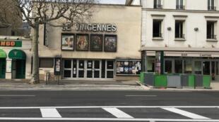 France coronavirus Salle de cinéma désertée à Vincennes