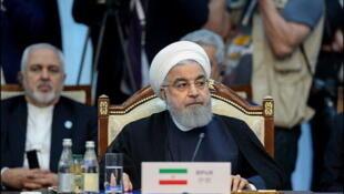 حسن روحانی، رییسجمهوری اسلامی ایران، آمریکا را به ایجاد بیثباتی در جهان متهم کرد.