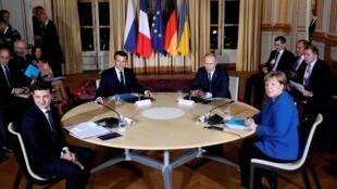 Cimeira de Paris sobre conflito no leste da Ucrânia