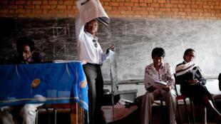 Préparatifs des élections à Madagascar en 2013.