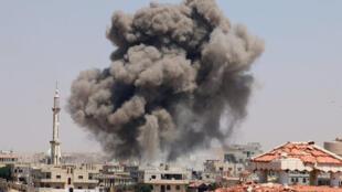 Síria:Wasginton e Paris dispostos a ripostar